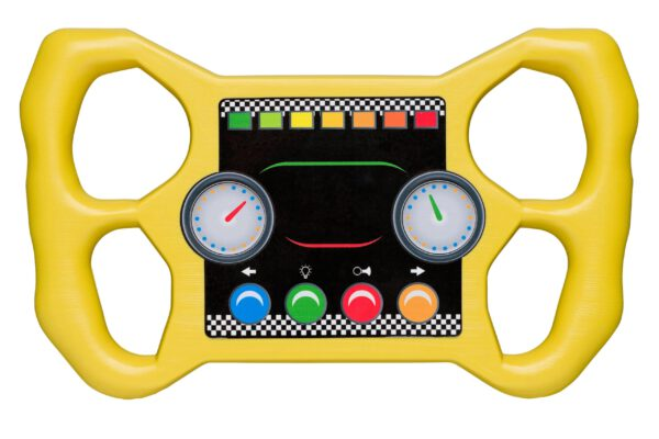 Racing stuur geel 2552020