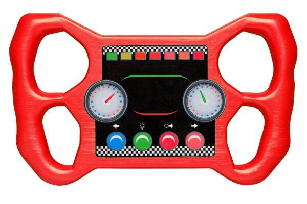 Racing stuur rood 2552025