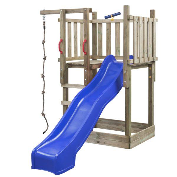 Speeltoren Mario SwingKing 7850028 blauw