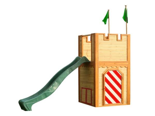Arthur Speelhuis Bruin rood AXI glijbaan groen