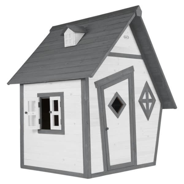 Cabin Speelhuis AXI Grijs wit 8717973938866