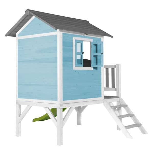 Lodge XL Speelhuis Caribisch Blauw sfeer 3