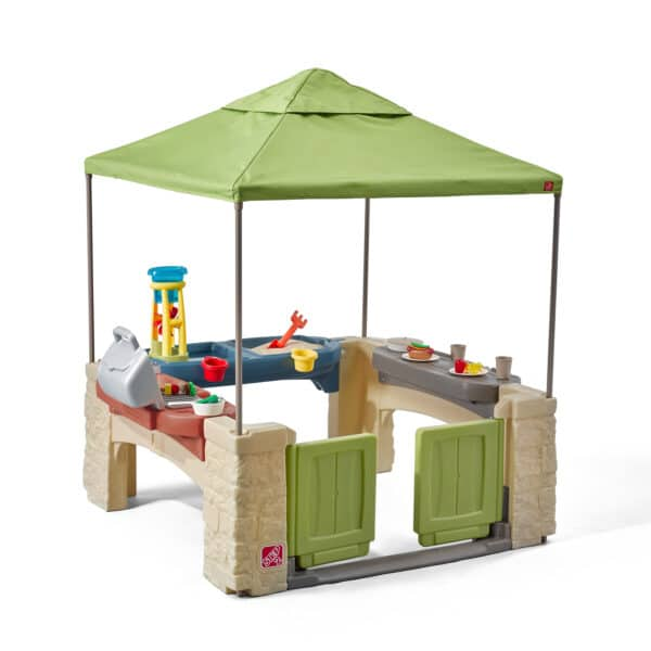 All Around Playtime Patio with Canopy