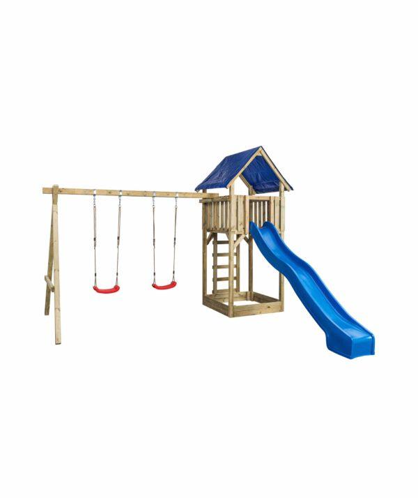 Speeltoestel Jonas (SwingKing) glijbaan blauw