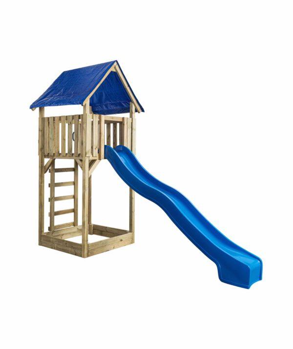 Speeltoren Lisa (SwingKing) glijbaan blauw